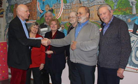 Der neue Vorstand derAG 60